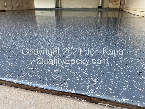 Chip Medium Gray Base with California Gray Chip Blend