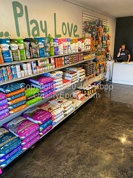 Quality Metallic Epoxy Floor at Fitch Natural Pet Market