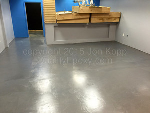 Quality Floor Epoxy at All Mobile Matters, Chandler, AZ