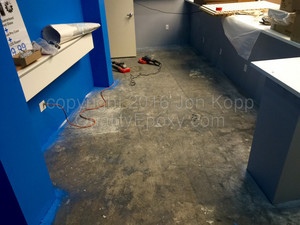 Quality Metallic Epoxy Floor at All Mobile Matters Tucson, AZ