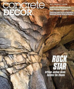 Concrete Decor Magazine April 2017 Article