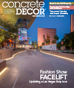 Concrete Decor Magazine January 2016 Article