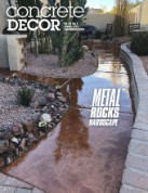 Concrete Decor Magazine January 2019 Article