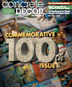 Concrete Decor Magazine July 2015 Article