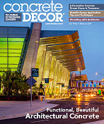 Concrete Decor Magazine June 2014 Article