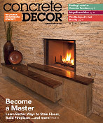 Concrete Decor Magazine October 2013 Article