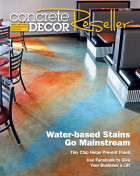 Concrete Decor Magazine 2016 Article