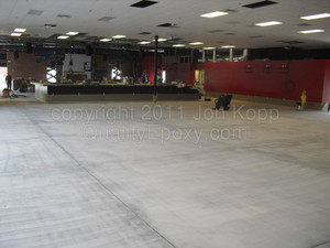 Quality Metallic Epoxy Floor at Cactus Moon