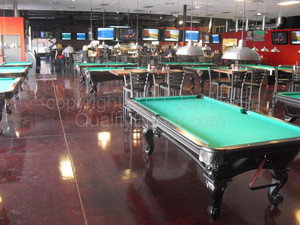 Quality Metallic Epoxy Floor at Cactus Moon Sports Grill, Mesa, AZ