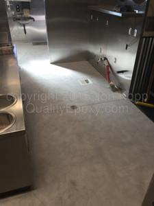 Quality Metallic Epoxy Floor at Cruisers Cafe 66