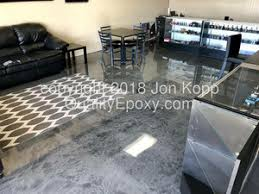 Quality Metallic Epoxy Floor at Desert Cloud, Mesa, AZ