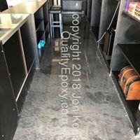 Quality Metallic Epoxy Floor at Desert Cloud