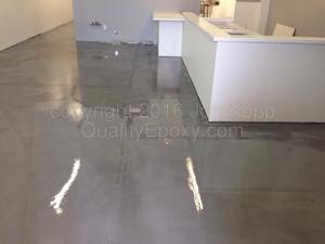 Quality Metallic Epoxy Floor at Everyone Loves Fondue