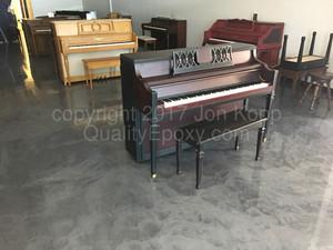 Quality Metallic Epoxy Floor at My first Piano Gilbert AZ