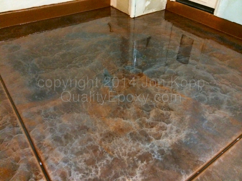 Chalky Paint For Covering Laminate Flooring