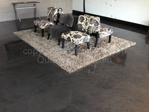 Quality Metallic Epoxy Floor at Perfect Gold Exchange, Maricopa, AZ