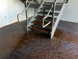 Quality Metallic Epoxy Floor at Quantum