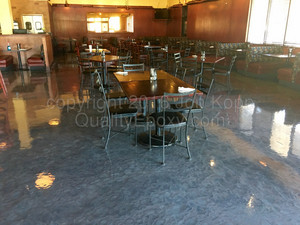 Quality Metallic Epoxy Floor at Streets of New York