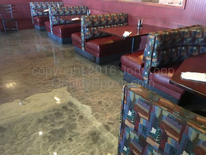 Quality Metallic Epoxy Floor at Streets Of New York, Chandler, AZ