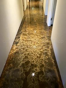 Quality Metallic Epoxy Floor at All Surveillance Security