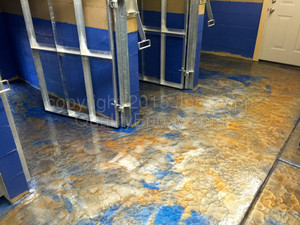 Quality Metallic Epoxy Floor at Top Dog Boarding, Gilbert, AZ